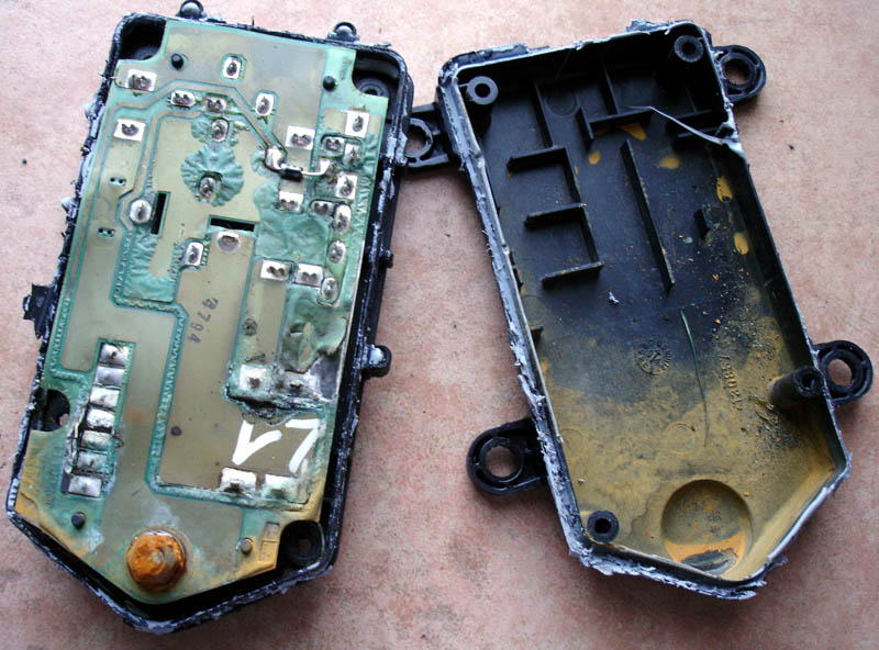 Fiat coup fr r paration boitier climatisation - Nettoyer circuit imprime ...